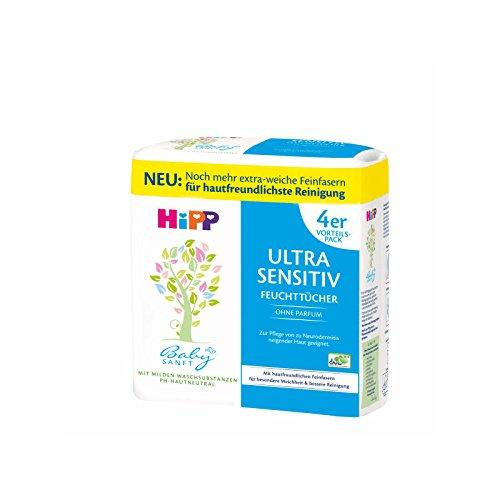 HIPP Baby SANFT Feuchttücher ohne Parfüm 4X52 St
