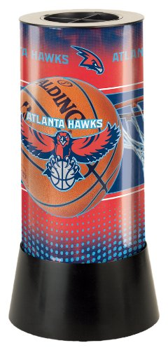 NBA Atlanta Hawks Rotating Lamp