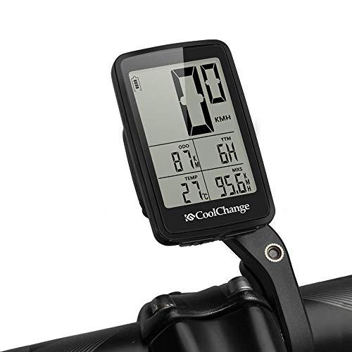 Wisdomx Bicicleta Cuentakilómetros Inalámbrica Ciclismo Impermeable y Iluminar Desde el Fondo Velocímetro...