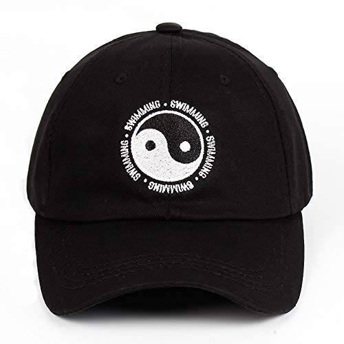 yitao Baseball Kappe Mac Miller Papa Hut Schwimmen Yin Und Yang Klatsch Bestickte Hut Snapback Baseball Cap Für Männer Und Frauen