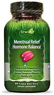 Irwin Naturals, Menstrual Relief Hormone Balance, 84 Liquid Soft-Gels by Irwin Naturals