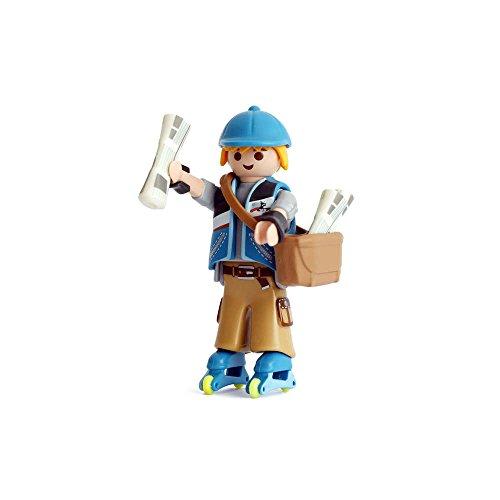 Promohobby Figura de Playmobil Serie 13 de Repartidor de periódicos