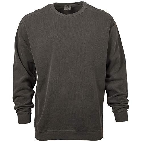 Comfort Colors Men's Adult Crewneck Sweatshirt, Pepper, 3X-Large