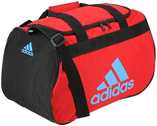 adidas Diablo Small Duffel BagScarlet/Black/Shock CyanSmall