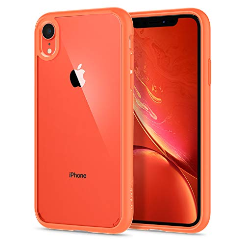 Spigen Cover Ultra Hybrid Compatibile con iPhone XR - Coral