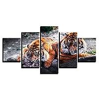 XKHSD 感動引用壁アートキャンバス絵画黒白い壁ポスタープリント用リビングルーム現代家の装飾