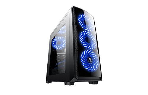 CoolBox COO-DGC9K7-LB-0 Carcasa de Ordenador Torre Negro -