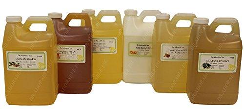 Orange Wax (Liquid,Unprocessed) Natural by Dr.Adorable 64 oz/2 quarts