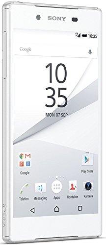 Sony E6653 Xperia Z5 12,95 cm (5,2 Zoll) Smartphone (32GB, 3GB RAM, Single SIM) Weiß