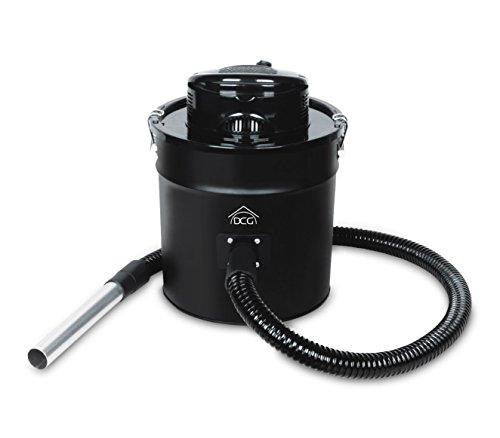 BS8800 Bidoncino DCG aspiracenere 20 lt con motore tubo flessibile 1200W camino. MEDIA WAVE store ®