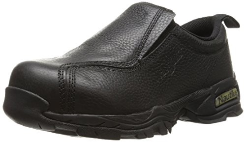 Nautilus 1631 Women's ESD No Exposed Metal Safety Toe Slip-On,Black,9 M US