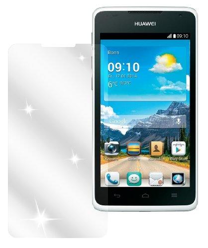 Ecultor I 6x Schutzfolie klar passend für Huawei Ascend Y530 Folie Displayschutzfolie