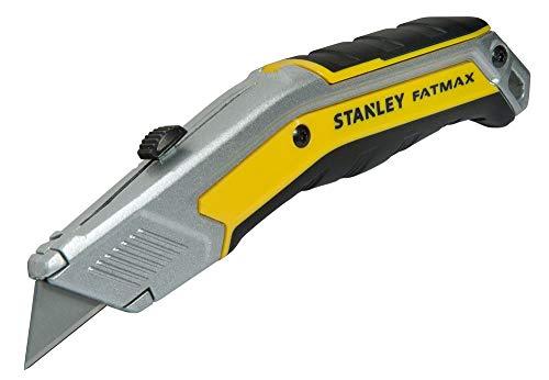 Stanley FatMax Messer ZollEXO Zoll (einziehbare Klinge, 190 mm Länge, InterLock, ergonomisches Design) FMHT0-10288