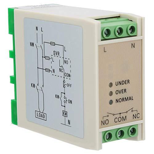 SVR-220 Spannungsüberwachungsrelais,Überspannungs-Unterspannungsschutz 220VAC 1NO + 1NC
