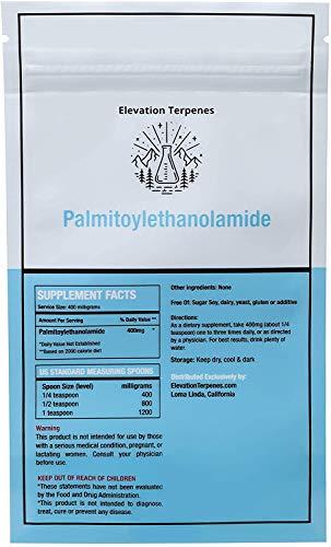 USA LAB Tested Bulk Ultra-micronized Palmitoylethanolamide Powder 99% Pure (500 Grams)