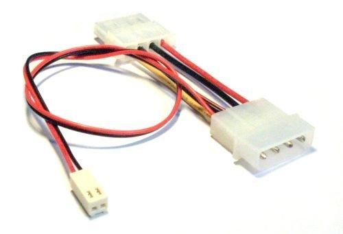 Mainboard Adapterkabel, InLine®, 2pol Molex Buchse an, Y-Doppelstecker, Länge 30cm