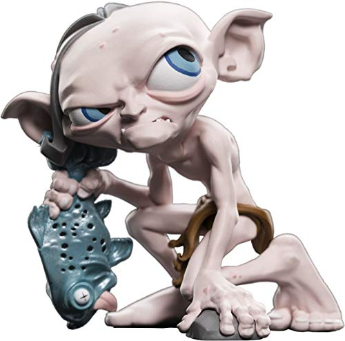 Weta Collectibles Señor de los Anillos Figura Mini Epics Gollum, Multicolor (Weta Workshop WETA865002523)