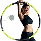 Best Hula Hoops - Y.A. LOTUS Fitness Hula Hoop, 8 Section Detachable Review