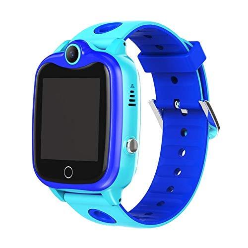 Tookss D06 Kinder-Armbanduhr, IP67, wasserdicht, digitale Kinder-Armbanduhr, SOS-Anruf, für Jungen und Mädchen, Smart-Locator, Anti-Verlust-Monitor, Blau