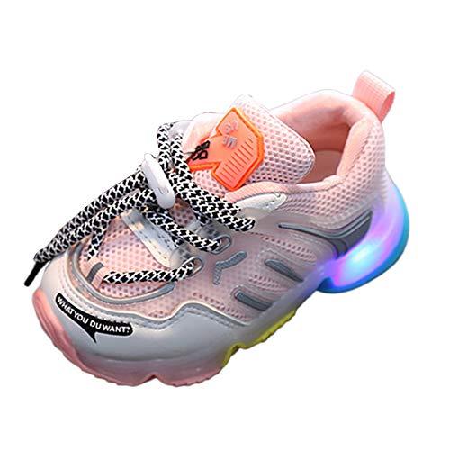 Calzado de Deportes de Exterior de niño niña Unisexo con Luces LED...