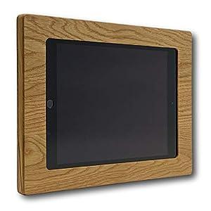 NobleFrames Tablet Wandhalterung für iPad Air1/2, iPad 5, iPad 6 und iPad Pro 9,7″ aus Eiche