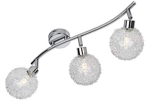Nino Leuchten GmbH LED-Balken 3-flg. Ryder, chrom, 84460306