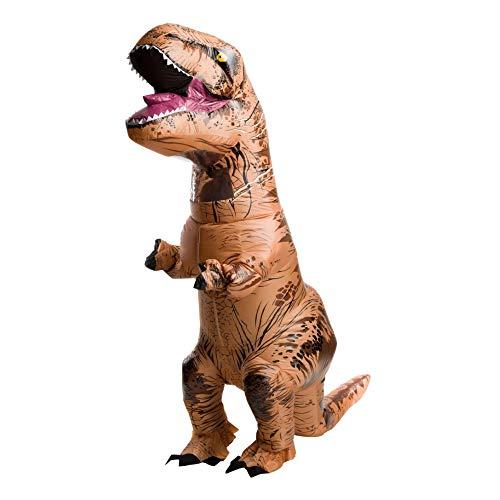TopHGC Aufblasbares Kostüm, Halloween Kostüm Dinosaurier Kostüm, Tyrannosaurus Rex Dinosaurier Anzug Dress Up Kostüm für Halloween Weihnachten Maskerade Party