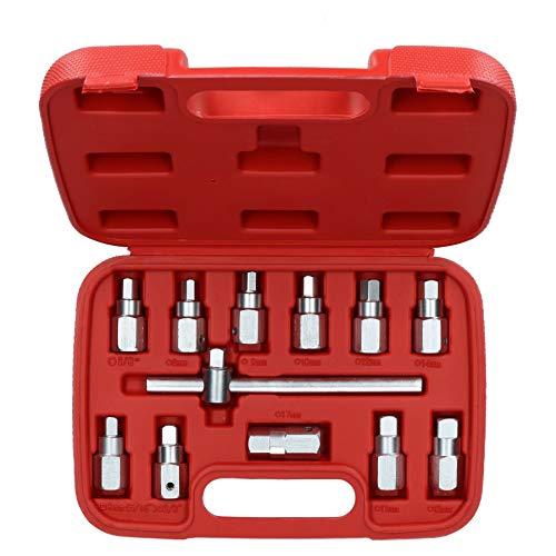 Bouchon de vidange Puisard Key Axle Réparation changement d'huile Kit 3/8\