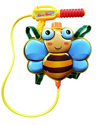 Wasserpistole-n S34, Kinder-Spielzeug Spritz-Pistole Biene-Rucksack Rücken-Tank Wasser-Spritze Super-Soaker Spielzeug-Gewehr Pump-Gun Geschenk-Idee Geburtstag-e