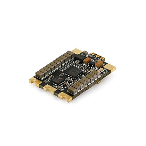 Accessories Rcharlance Wraith32 Metal 80A BLHeli - 32 ESC for RC Drone Compatible with Betaflight F3 / F4 Flight Controller - (Color: Black)