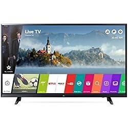 LG 43UJ620V 43´´ 4K Ultra HD Smart TV Wi-Fi Black LED TV, 43´´, 3840 x 2160 Pixels, LED, Wi-Fi, Nero