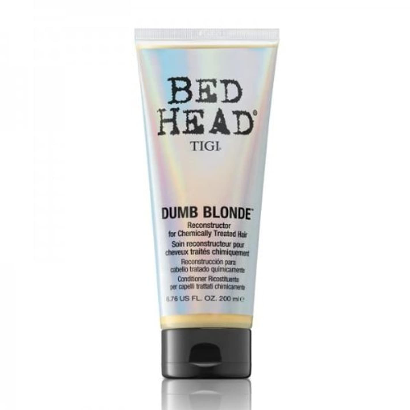 変装煩わしいカトリック教徒Tigi Bed Head Dumb Blonde Reconstructor For Chemically Treated Hair 200ml [並行輸入品]
