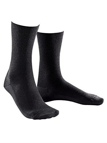 Weissbach Herren Socken »Elite extra« Made in Germany Made in Germany jeansblau
