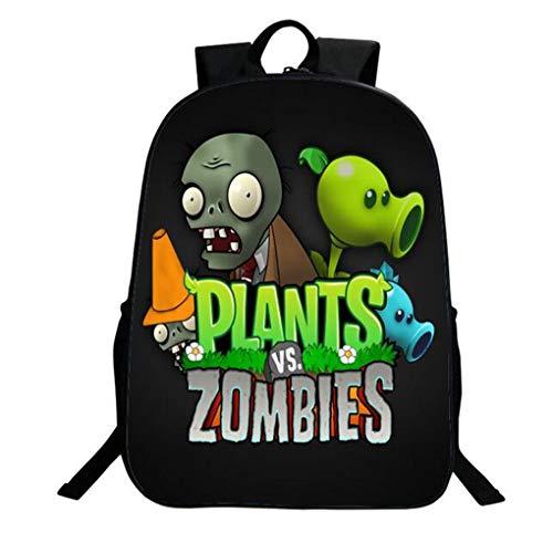 Children Backpack Unisex Pupils Cartoon Students Bookbag Canvas Schoolbag Kid's Knapsack Teens Boy Girl Daypack (Color C)