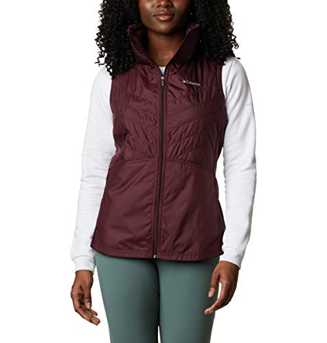 Columbia Women's Mix It Around II Vest, Malbec, XX-Large