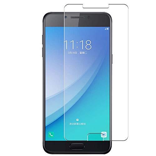 Vaxson 4 Unidades Protector de Pantalla, compatible con Samsung Galaxy C5 Pro [No Vidrio Templado] TPU Película Protectora