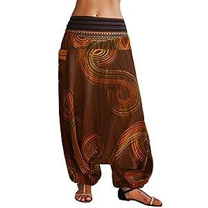 virblatt Pantalones Bombachos Hombre y Mujer Tejidos Tradicionales Talla única Pantalones cagados con Patrones Pintados… | DeHippies.com