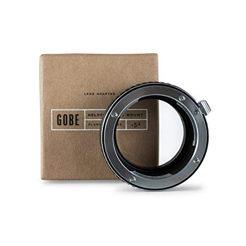 Gobe Lens Mount Adapter: Compatible with Pentax K Lens and Sony E Camera Body