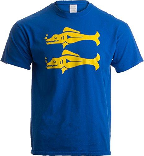 Legends of The Hidden Temple Tribute | 90s Halloween Team Costume Unisex T-Shirt-L-Blue