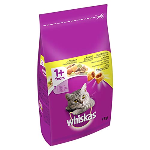 Whiskas 1+ Dry Cat Food for Adul...