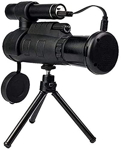 Binoculares de alta potencia, telescopio BD618 10X 25 Binoculares de cámara digital de enfoque largo Vidicon, compatible con USB 2.0 y tarjeta de memoria de hasta 32 GB Nuevo, para interiores