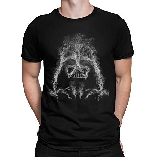 Camisetas La Colmena - 319-Maglietta Darth Smoke (Donnie)