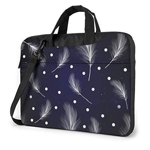 15.6″Lightweight Laptop Notebook Shoulder Backpack Bag Bohemia 3 Waterproof PC Briefcase Messenger with Strap