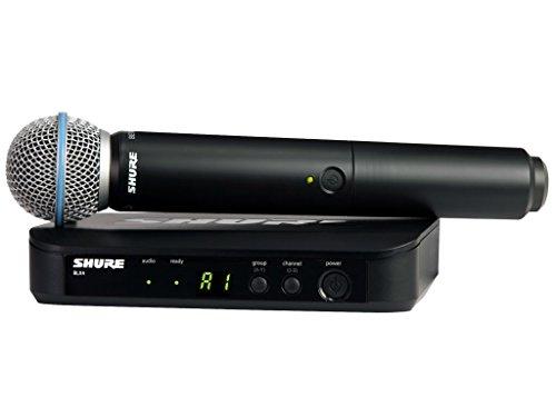 Shure BLX24/BETA58A Radio-microfono wireless professionale