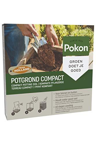 Pokon Kompakte Pflanzerde, Potgrond Compact, 10L