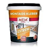 MEM Montage- Kleber Extrem - 1 KG - hochwertiger Klebstoff zum socheren Verkleben - 10 sek - ideal zur Verklebung von Porenbton, Stein, Span, Dämm und Isolierplatten - 30822602
