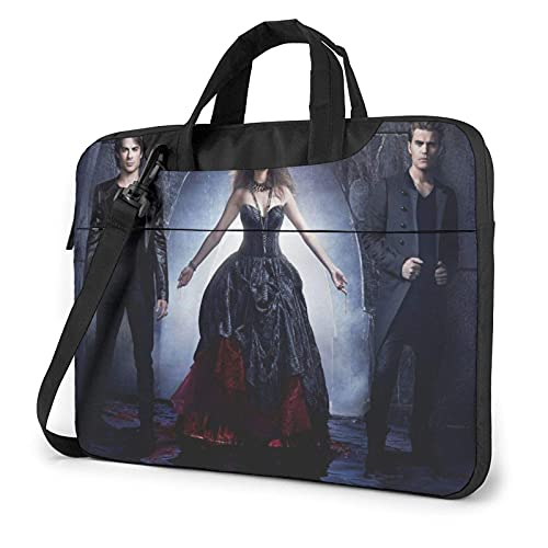 XCNGG Vampire Diaries Laptop Bag Tablet Portable Briefcase Protective Case Cover Messenger Bags 13 inch