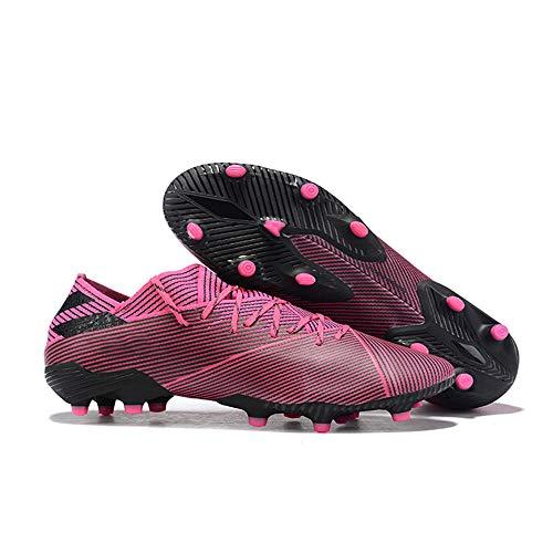 Botas De Futbol Botas De FúTbol Botas De FúTbol con Cordones Tejido EláStico Carly Zapatos De Entrenamiento Pastos Naturales Hombres
