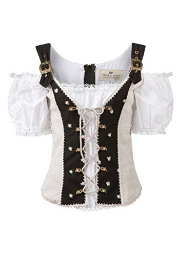 Stockerpoint Damen Mieder Doya T-Shirt, schwarz, 46