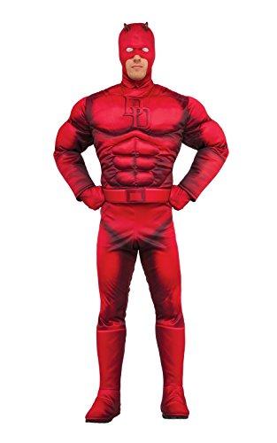 Rubie's Men's Marvel Daredevil Deluxe, As Shown, One Size